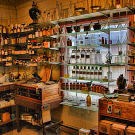 Expired Drugs & Remedies! by Fred Herring - Artistic Objects Antiques