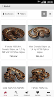 Screenshot of M&S Reptilien