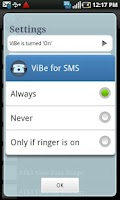 Screenshot of ViBe