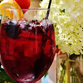 Sangria by Lori Kulik - Food & Drink Alcohol & Drinks ( wine, wine glass, drink )
