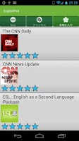 Screenshot of EnglishPodcast for Learners