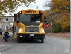 manotick school bus