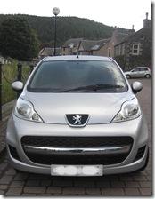 my Peugeot 107