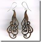 woodland treasures earrings