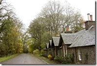 autumn cottage bank