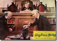 still from Greyfriars bobby film