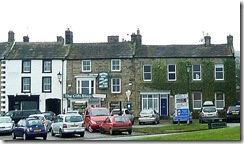 High Row shops, Reeth