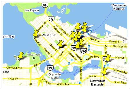 vancouver street food map