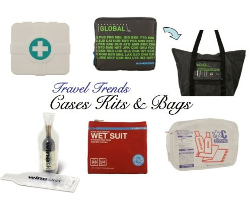 travel trends bags, cases and kits