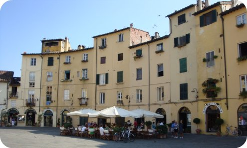 tuscany lucca travel biking eating
