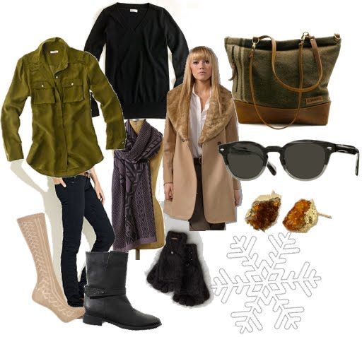 travel + cold weather street style