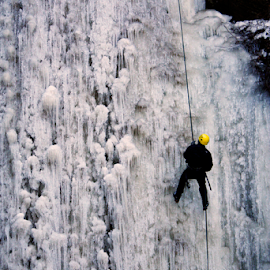 Ice Climbing by Damian Karich - Sports & Fitness Climbing (  )