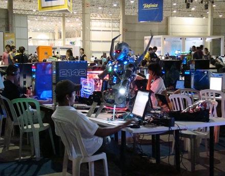 MODs ou Robótica, não sei ainda. Campus Party 2009