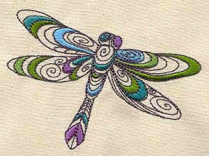 Doodle Dragonfly
