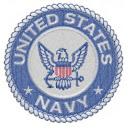 Navy Emblem Embroidery