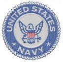 Navy Emblem Embroidery