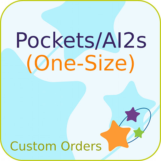 Custom ONE-SIZE Solid PUL Pocket/AI2 Diaper