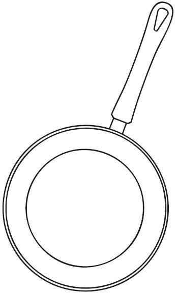 Dibujos de cocina para colorear - Utensilios de cocina para ninos ...