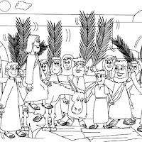 MOMENTS IN THE LIFE OF JESUS COLORING PAGE