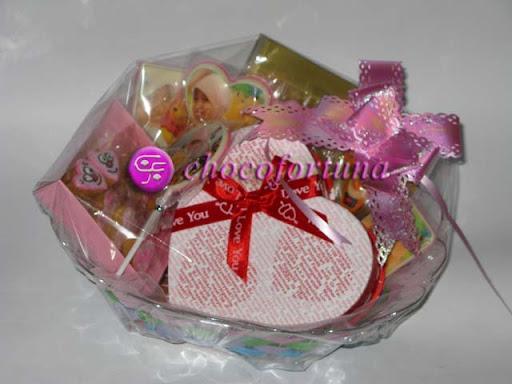 parcel coklat love dan pooh