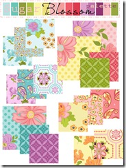 Sugar Blossom collection for blog