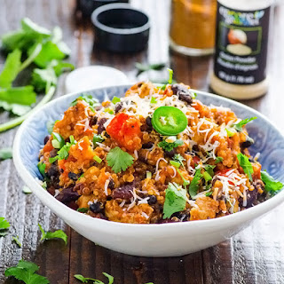 One Pan Chicken Chili Quinoa