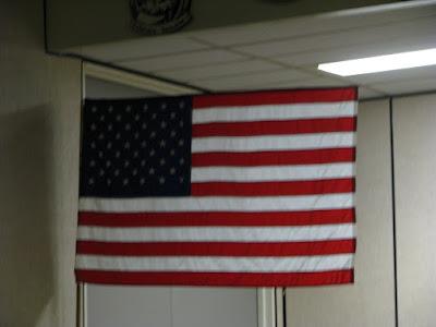 American Flag replica
