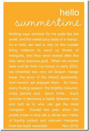 mango journalling for web
