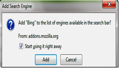 BING Add on
