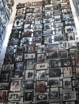 Holocaust Museum wall of photos