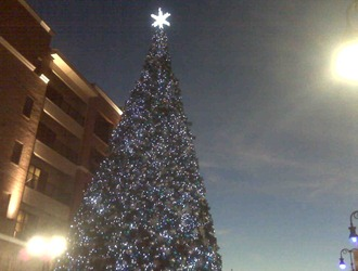 Christmas Tree at Branson Landing