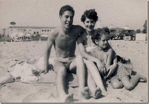 Don, Mom and Karen 1953ish