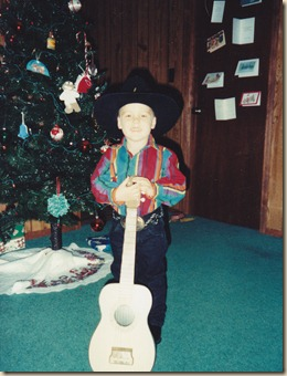Tyler as Garth 1992
