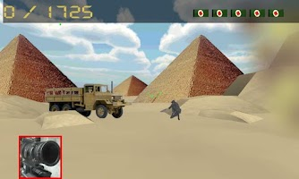 Screenshot of sniper army: pyramids war