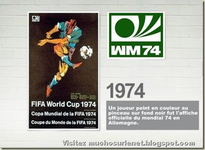 Affiche Allemagne 1974