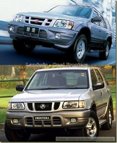 Les constructeurs automobiles chinois préfèrent copier-2