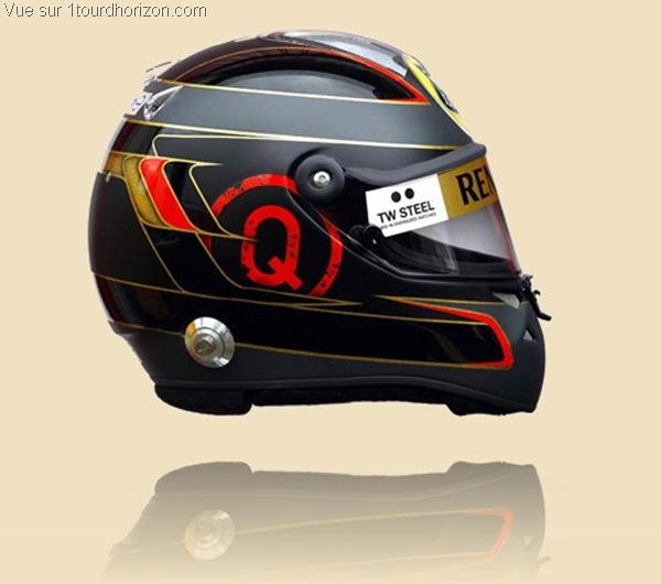 Casque des pilotes de formule 1 - Nick Heidfeld