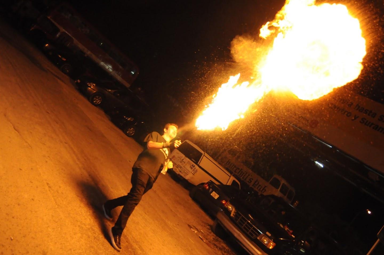 Fire Breather Steven Neice