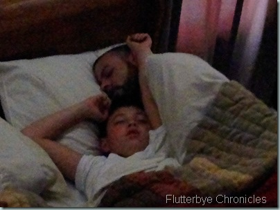 Brad and Caleb Sleeping