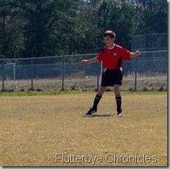 Caleb's 1st soccer game