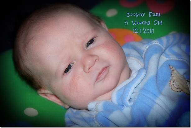 Cooper 6 weeks