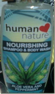 human nature shampoo