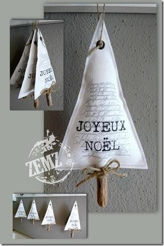kerstboomhanger canvas kl