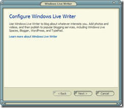 Windows Live Writer - 1