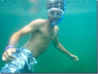 Devon snorkling