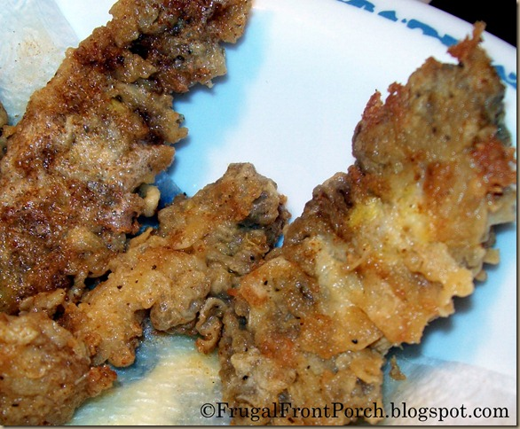 Fried Morel Mushrooms