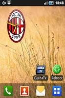 Screenshot of AC Milan Clock
