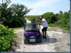 H & A golf cart