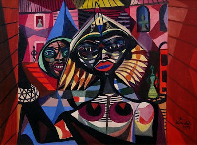 Di Cavalcanti painting