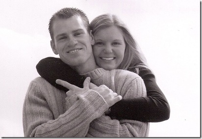 Taken the day we got engaged March 17, 2002